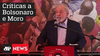 Lula: 'Fui vítima de uma mentira jurídica contada em 500 anos de história'