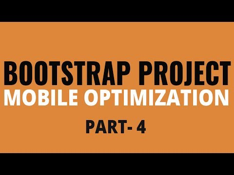 Learn Bootstrap By Building Project   Mobile Optimization   Part 4