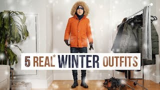 REAL Cold Winter Outfits For Men | Layering And Styling Mens Fashion | ODS Winter 2019