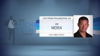 UCLA Head Football Coach Jim Mora on The Draft Process - 4/27/17