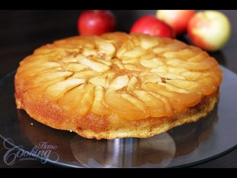 Video Apple Upside Down Cake
