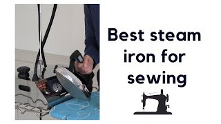 Best steam iron for sewing