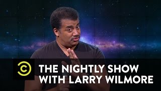 The Nightly Show - Neil deGrasse Tyson Slams Flat-Earth Theorist B.o.B