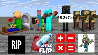 Monster School : SEASON 4 ALL EPISODE - Minecraft Animation
