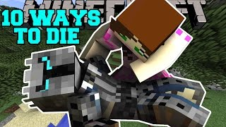 Minecraft: MOST INSANE DEATHS! - 10 WAYS TO DIE - Custom Map