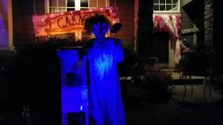 Haunted House Outdoor Halloween Decorations