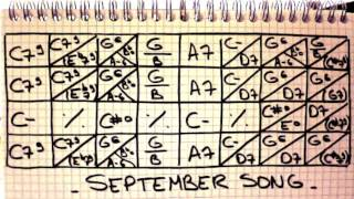 Play Along Manouche - SEPTEMBER SONG - Gipsy Jazz