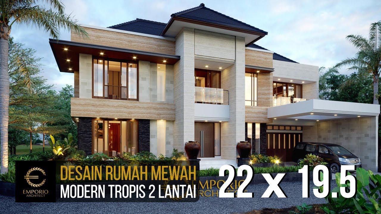 Video 3D Desain Rumah Modern 2 Lantai Bapak Steven di Surabaya