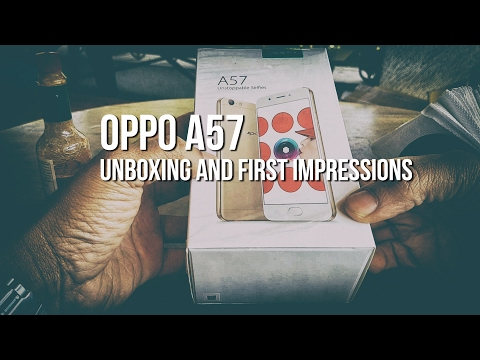 Oppo A57 Unboxing and First Impressions - Made in India