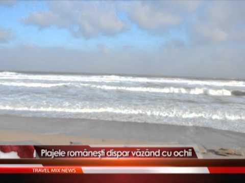 Plajele romanesti dispar vazand cu ochii
