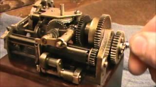 Unknown, Antique Clockwork Mechanism