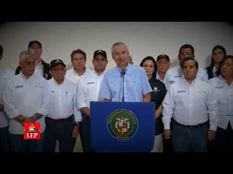 Consejo de Gabinete condena actos de protesta contra el presidente Varela