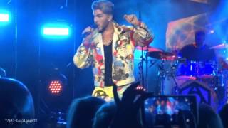 TALC HD - Adam Lambert - These Boys (Band Intro) - #TohUSTour - Atlantic City, NJ