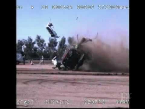 حادث وهمي وأهمية ربط حزام الأمان