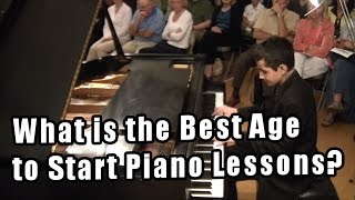 What is the Best Age to Start Piano Lessons? What Age to Start Piano Lessons