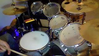 Devo Bamboo Bimbo drum cover