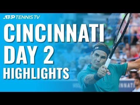Federer and Djokovic Cruise; Wawrinka Wins Epic v Dimitrov | Cincinnati 2019 Day 2