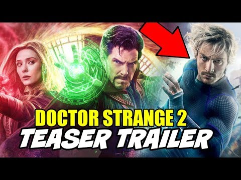 Doctor Strange 2 Quick Silver Scene & Return for Wanda Vision Explained Avengers Endgame