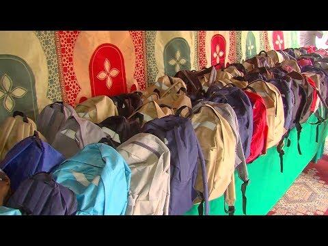 العرب اليوم - شاهد: 66 ألف تلميذ مغربي يستفيدون من المبادرة الملكية