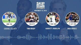 Zeke's struggles, Brady's frustrations, Garrett/Rudolph, Kawhi + LeBron | UNDISPUTED Audio Podcast