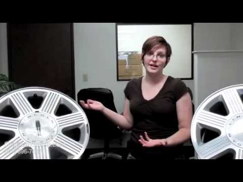Town Car Rims & Town Car Wheels - Video of Lincoln Factory, Original, OEM, stock used rim