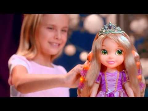 Кукла Disney Princess - Рапунцель со светящимися волосами