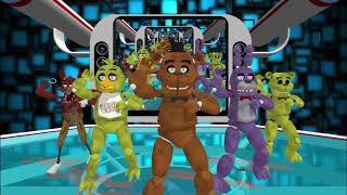 MMD FNAF Gangnam Style