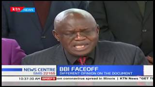 BBI FACEOFF : Political alignments take shape, difference of opinion on the document