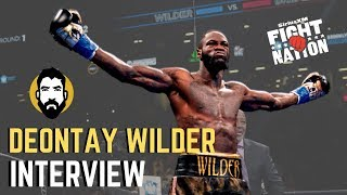 Deontay Wilder: I'm 'At the Top' of Boxing's All-Time Punchers | Luke Thomas