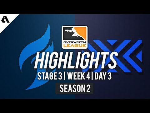 Dallas Fuel vs. New York Excelsior | Overwatch League S2 Highlights - Stage 3 Week 4 Day 3