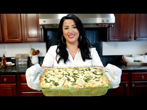 Looks Good: Baked Chicken and Rice with Creamy Poblano Sauce Casserole Recipe