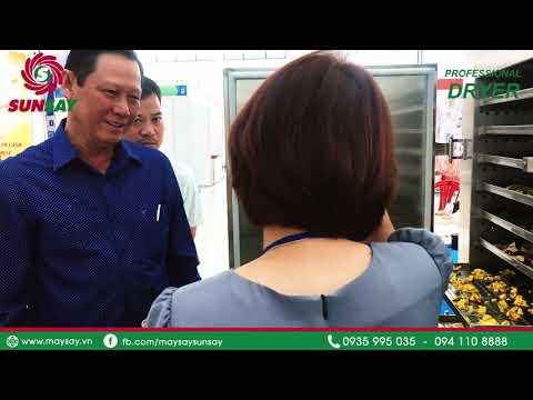 Máy sấy lạnh sấy thực phẩm cao cấp tại hội chợ triển lãm Quốc tế EWEC Đà Nẵng 2020