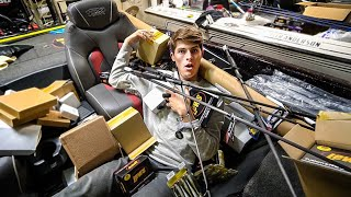 MEGA Fishing Tackle Unboxing (THOUSANDS Of $$$)