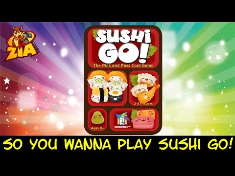 Sushi Go! | HOW TO PLAY