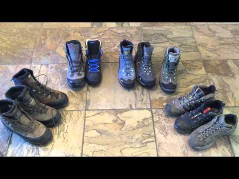 Lose Boot weight! Lightweight boot options - Lowa, Salomon, Asolo, Vasque