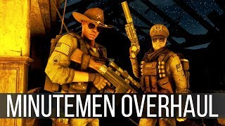Militarized Minutemen - A Mod to Transform Fallout 4's Weakest Faction