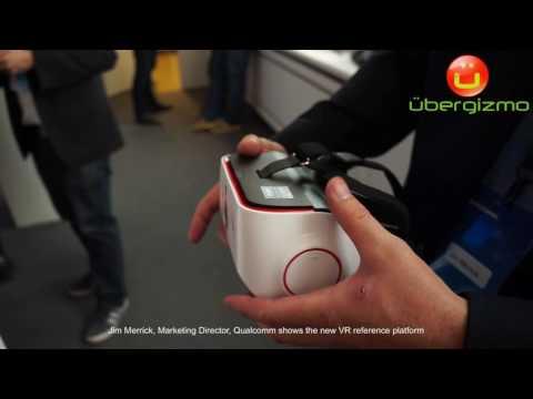 Qualcomm Snapdragon VR820 Reference Platform - standalone VR headset IFA 2016
