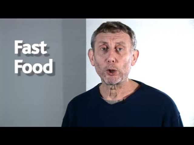 🍔 Fast Food 🍔 | POEM | The Hypnotiser | Kids' Poems and Stories With Michael Rosen