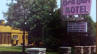 Coral Court Motel, St Louis, MO, & Tri-County Truck Stop, Rt 66 June, 1991