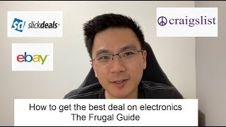 How to get the best deal on electronics - The Frugal Way