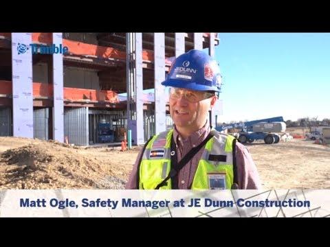 Trimble CrewSight Testimonial with Matt Ogle Safety Manager at JE Dunn