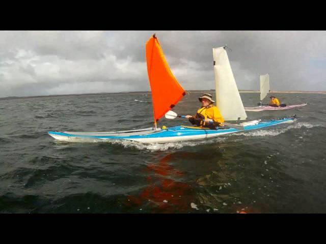 Sea Kayak Sailing, Tasmania
