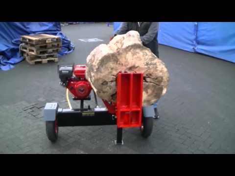 Benzinholzspalter - Anhängerholzspalter