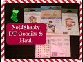 Not2Shabby DT Goodies Haul Lots of Sales Giveaways Coming Up