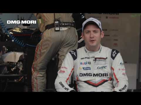DMG MORI & Porsche – Nick Tandy