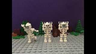 Lego Spooky Scary Skeletons