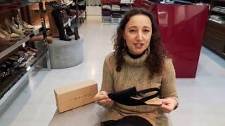 Vídeo Sandália Rasteira em Veludo Bico Fino Tabita Cor Preto
