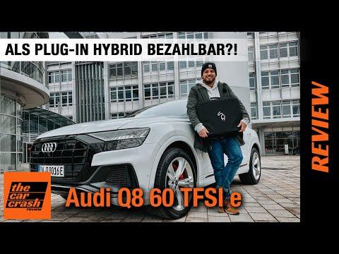 2021 Audi Q8 60 TFSI e (462 PS) 🔋🔌 Als Plug-in Hybrid bezahlbar?! 🤔🤍 Fahrbericht | Review | Test