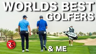 What I learnt from the WORLDS BEST GOLFERS.....