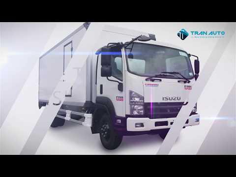 Xe tải Isuzu FRR 550 thùng bảo ôn tại TRAN AUTO